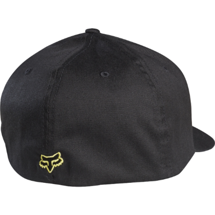 FLEX 45 FLEXFIT HAT BLK/YLW  SP16