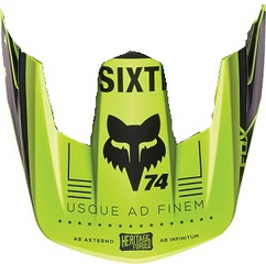 RAMPAGE COMP SP16 VISORS [FLO YLW]      MTB16