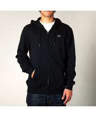 LEGACY ZIP FLEECE [BLK]