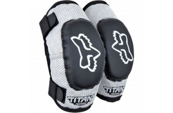 YOUTH PeeWee Titan Youth Elbow [Black/Silver] MX17