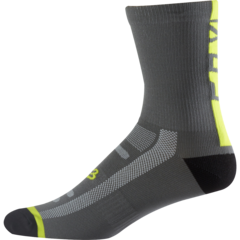 "8"" LOGO TRAIL SOCK [GRAPH/YLW]      SP17"