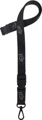 FOX HEAD AIRCRAFT LANYARD [BLK]         SP17