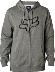 LEGACY FOXHEAD ZIP FLEECE [HTR GRAPH]