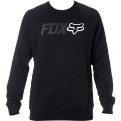 LEGACY CREW FLEECE [BLK]            FA17