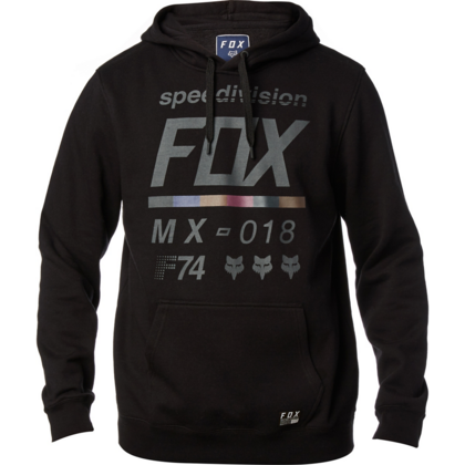 DISTRICT 2 PULLOVER FLEECE [BLK]      FA17