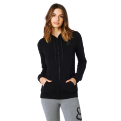 AFFIRMED ZIP FLEECE [BLK]
