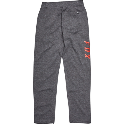 YOUTH SWISHA FLEECE PANT [HTR BLK]   FA17