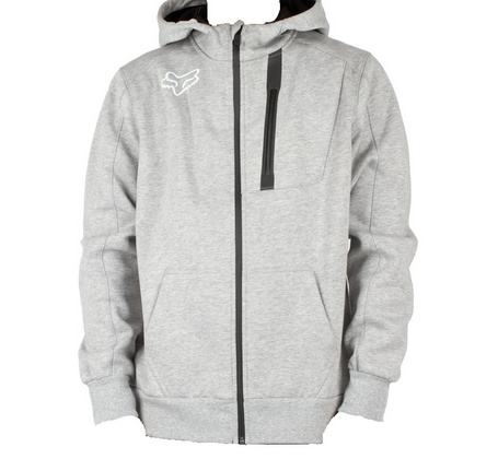 PIT TECH ZIP FLEECE [HTR GRY]      FA17