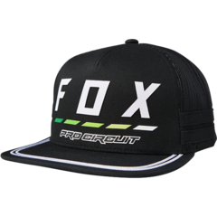 FOX PC DRAFTR SNAPBACK HAT [BLK]        FA18