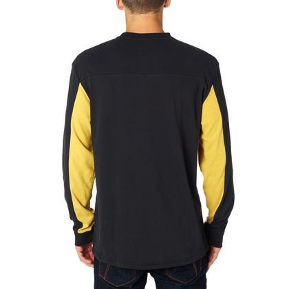 HAWLISS LS AIRLINE TEE [BLK]           SP18