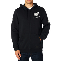 FOX HONDA ZIP FLEECE [BLK]        SP18