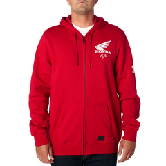 FOX HONDA ZIP FLEECE [DRK RD]         SP18