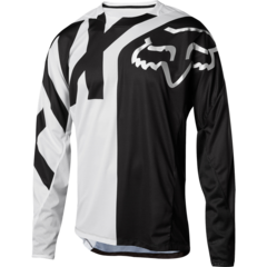 YOUTH DEMO LS JERSEY [WHT/BLK]    MTB SP18