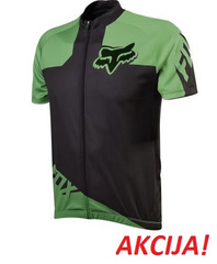 LIVEWIRE RACE JERSEY BLACK/GREEN