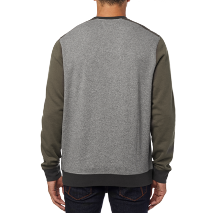 A DESTRAKT CREW FLEECE [HTR GRAPH]       LFS FA18