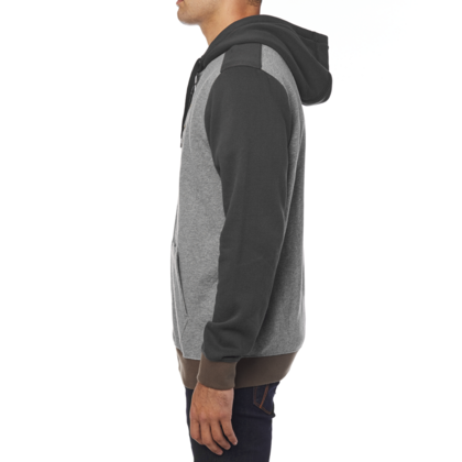 DESTRAKT ZIP FLEECE [HTR GRAPH]