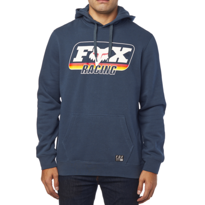 A THROWBACK PULLOVER FLEECE [NVY]        LFS FA18