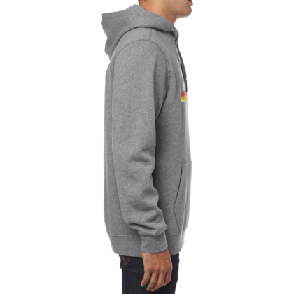 A THROWBACK PULLOVER FLEECE [HTR GRAPH]  FA18 LFS