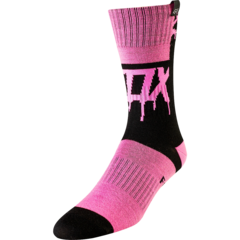 YTH GIRLS MATA DRIP MX SOCK [BLK/PNK]  MX FA18