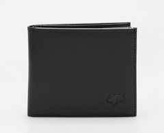 BIFOLD LEATHER WALLET [BLK] NS          LFS FA18