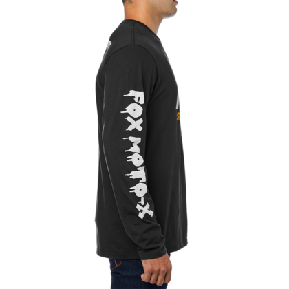 CHARGED LS TEE [BLK]   FA18 LFS