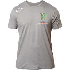 FOX MONSTER PC SS TEE [HTR DRK GRY]  LFS FA18