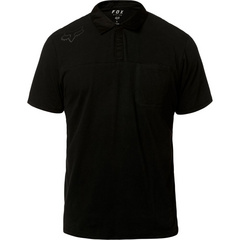 REDPLATE 360 SS TECH POLO [BLK/BLK]    SP19 LFS