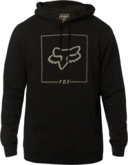 CHAPPED PULLOVER FLEECE [BLK]          LFS19