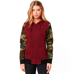 EVERGLADE CAMO ZIP FLEECE [CRNBRY]     SP19 LFS