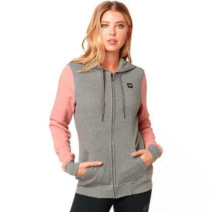 EVERGLADE ZIP FLEECE [HTR GRAPH]       SP19 LFS
