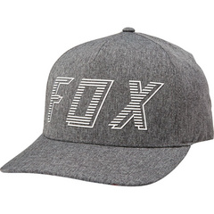 BARRED FLEXFIT HAT [DRK GRY]       SP19 LFS