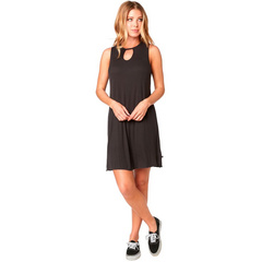 BAY MEADOW DRESS [BLK VIN]