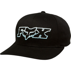 YOUTH DUELHEAD FLEXFIT HAT [BLK/BLU] OS LFS19