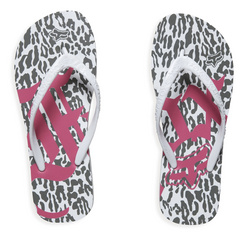 Girls Headliner Flip Flop White