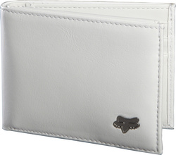 Bifold Leather Wallet Intl Only WHITE NS