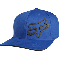 BOYS SIGNATURE FLEXFIT HAT BLUE