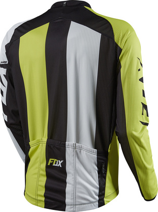 LIVEWIRE RACE LS JERSEY ACID GREEN