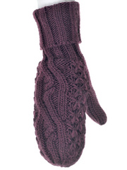 GIRLS LEGENDARY MITTENS MERLOT