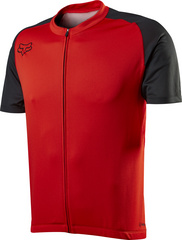AIRCOOL ZIP JERSEY RED