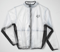 YOUTH FLUID MX JACKET CLEAR