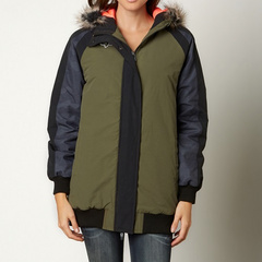 GIRLS JETSTREAM COAT BLK