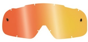FOX AIRSPC LENSES - SPARK RED SPARK